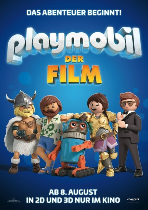 Cover zu Playmobil: Der Film (Playmobil: The Missing Piece)